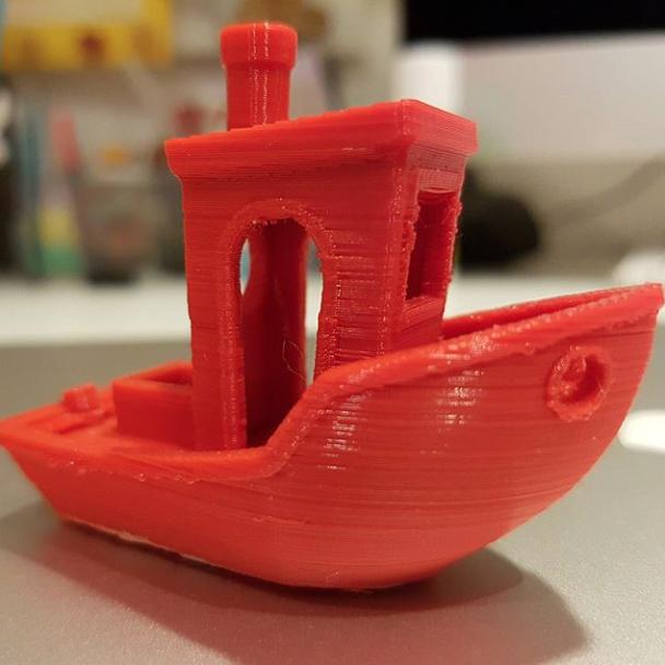 barchetta 3d da Vinci nano